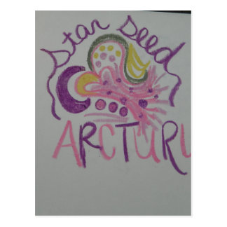 Símbolo ligero de la lengua de Arcturian Starseed Postales