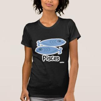 Símbolo lindo de los pescados de Piscis Tshirts