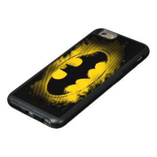 Símbolo logotipo negro y amarillo del | de Batman Funda Otterbox Para iPhone 6/6s Plus