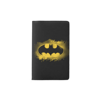 Símbolo logotipo negro y amarillo del | de Batman Libreta De Bolsillo Moleskine