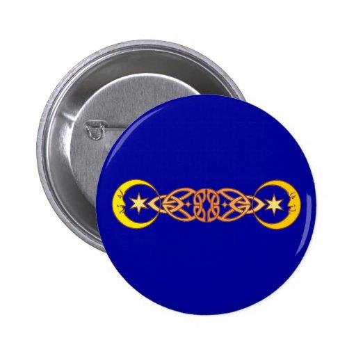 Símbolo magia luna magic moons pin redondo 5 cm