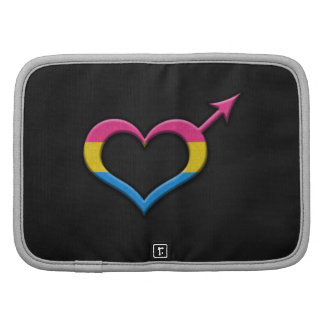 Símbolo masculino del género del orgullo Pansexual Planificadores