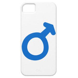 Símbolo masculino iPhone 5 funda