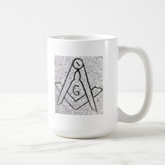 Símbolo masónico taza clásica