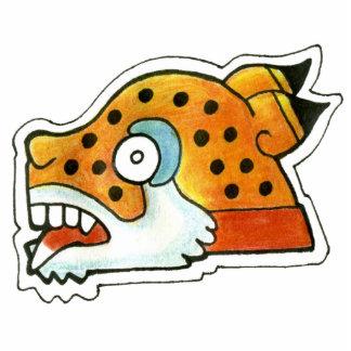 Símbolo maya de Jaguar Imán Fotoescultura