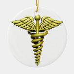 Símbolo médico adorno para reyes
