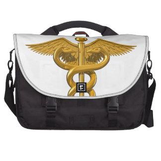 Símbolo médico bolsas de portatil