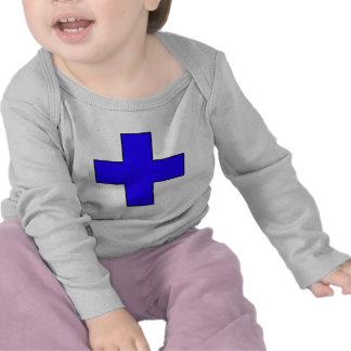 Símbolo médico cruzado médico del guardia de la sa camiseta