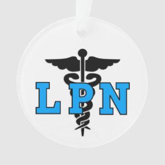 Símbolo médico de la enfermera de LPN