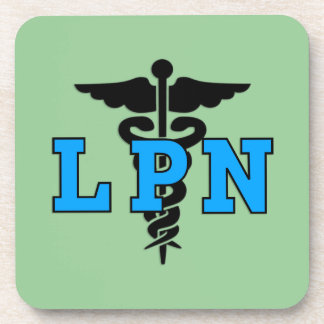 Símbolo médico de la enfermera de LPN Posavaso
