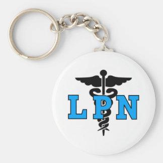 Símbolo médico de LPN Llavero