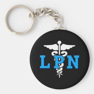 Símbolo médico de LPN Llaveros Personalizados