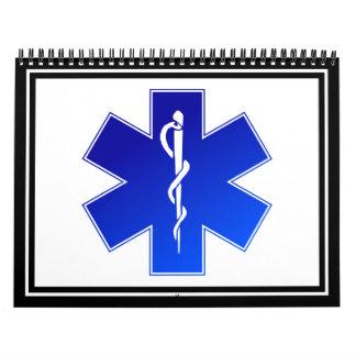 Símbolo médico del ccsme calendario