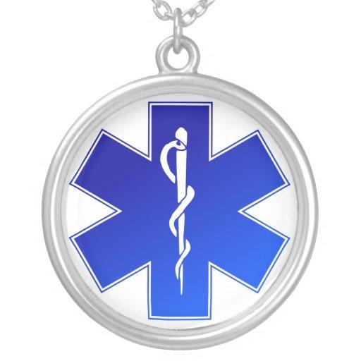 Símbolo médico del ccsme colgantes personalizados