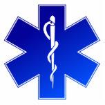 Símbolo médico del ccsme esculturas fotográficas