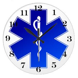 Símbolo médico del ccsme reloj