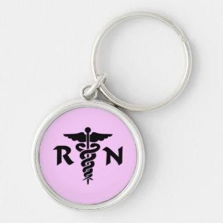 Símbolo médico del RN Llaveros
