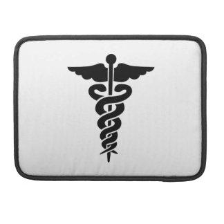 Símbolo médico funda para macbook pro