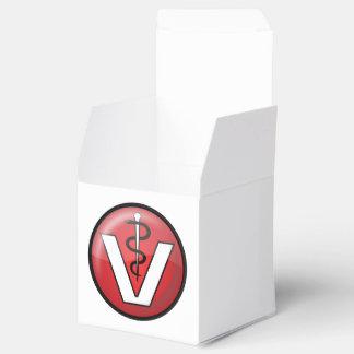 Símbolo médico veterinario cajas para regalos de fiestas