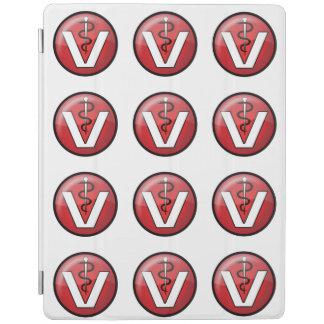 Símbolo médico veterinario cover de iPad