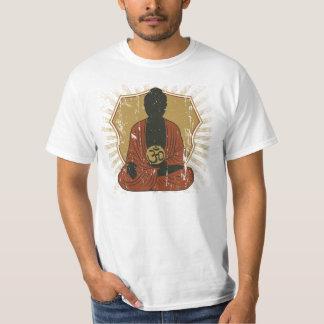 Símbolo Meditating de Buda OM Polera