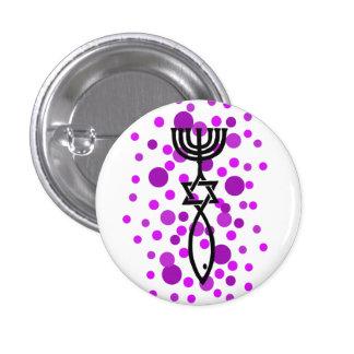 Símbolo mesiánico con los puntos púrpuras