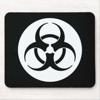 Símbolo Mousepad del Biohazard Tapetes De Raton