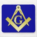Símbolo Mousepad del Freemasonry Alfombrilla De Ratones