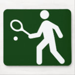Símbolo Mousepad del tenis Alfombrillas De Raton