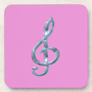 Símbolo musical Gcelf Posavasos De Bebidas