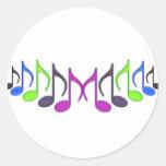 "Símbolo musical ""M "" Pegatina"