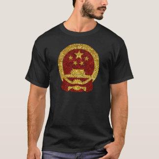 Símbolo nacional chino en brillo playera