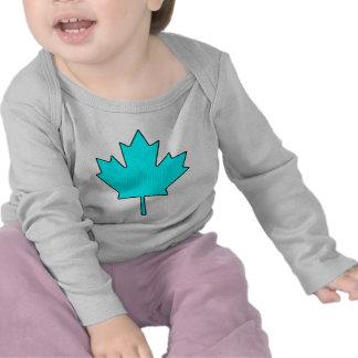 Símbolo nacional de Canadá de la hoja de arce Camiseta