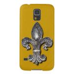 Símbolo New Orleans de la flor de lis de Flor De Funda Para Galaxy S5