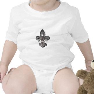 Símbolo New Orleans de la flor de lis de Flor De L Camisetas
