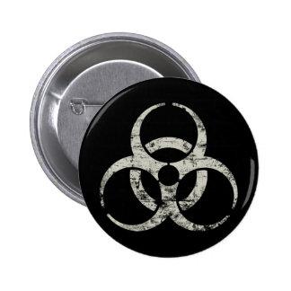 Símbolo nuclear del vintage pins