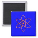 Símbolo nuclear imán