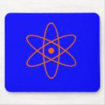 Símbolo nuclear tapetes de ratón