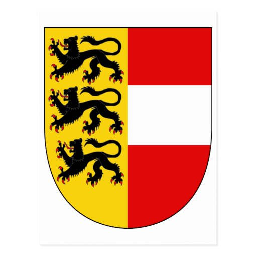 Símbolo oficial de Austria del escudo de armas de  Tarjeta Postal