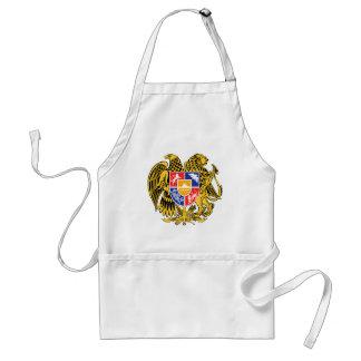 Símbolo oficial de la heráldica del escudo de arma delantal