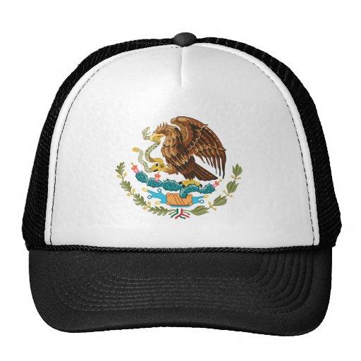Símbolo oficial de la heráldica del escudo de arma gorro de camionero