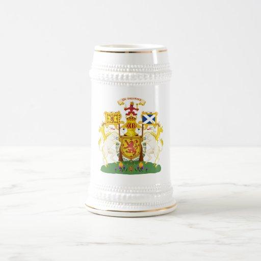 Símbolo oficial de la heráldica del escudo de arma jarra de cerveza