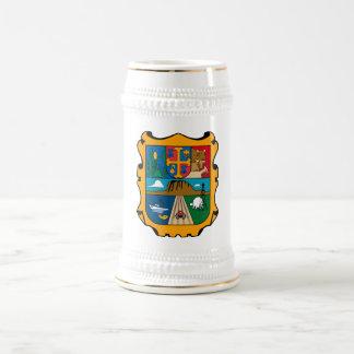 Símbolo oficial de Tamaulipas México del escudo de Jarra De Cerveza