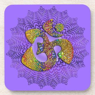 Símbolo OM universal/AUM - ornamento Posavaso