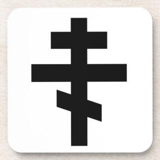 Símbolo ortodoxo ruso posavasos