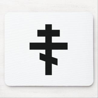 Símbolo ortodoxo ruso tapete de raton