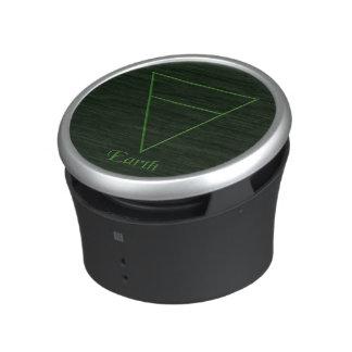 Símbolo pagano del elemento de la tierra de Falln Altavoz Bluetooth