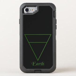 Símbolo pagano del elemento de la tierra de Falln Funda OtterBox Defender Para iPhone 7