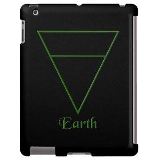 Símbolo pagano del elemento de la tierra de Falln Funda Para iPad