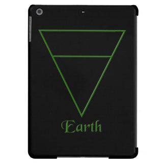 Símbolo pagano del elemento de la tierra de Falln Funda Para iPad Air